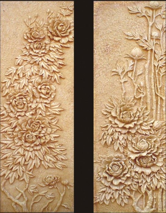 Outstanding Relief Wall Art Embellishment - Wall Art Collections ...