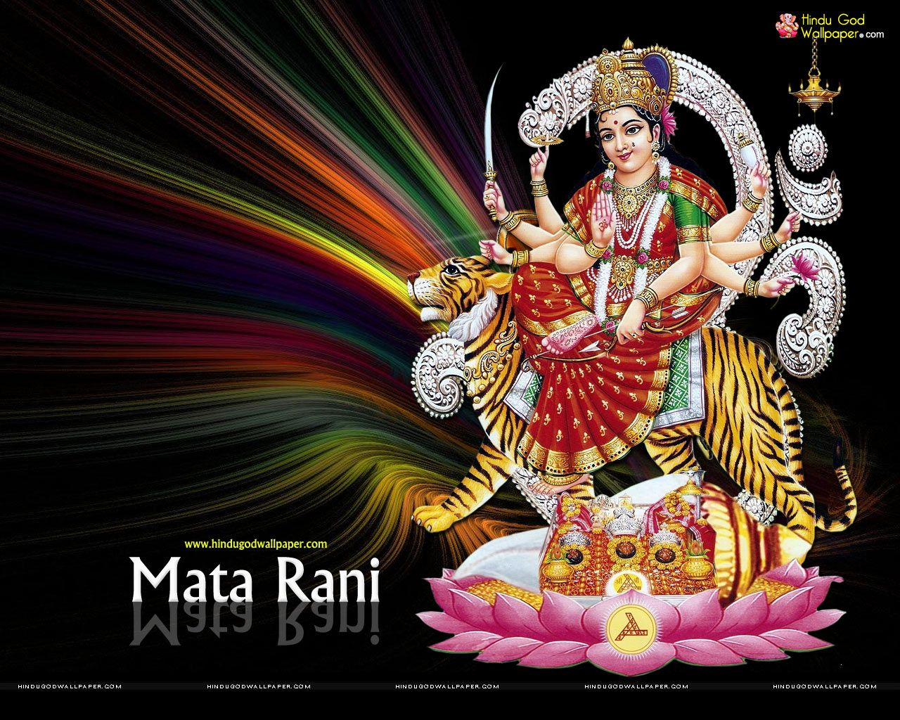 Mata Rani Hd Wallpapers Free Download Wallpaper Free Download Durga Images Navratri Wallpaper