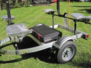 trailex trailers rackandroll triton