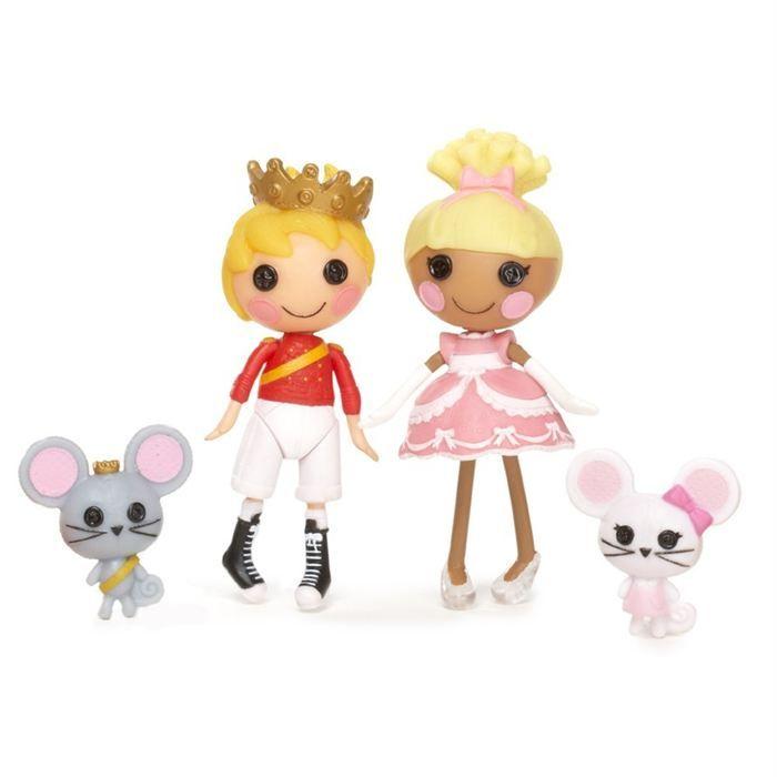 lalaloopsy mini | Lalaloopsy - Pack 2 Mini Poupées Prince & Cinder ...