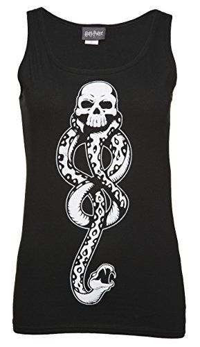 Womens Harry Potter Death Eaters Symbol Vest For More Information