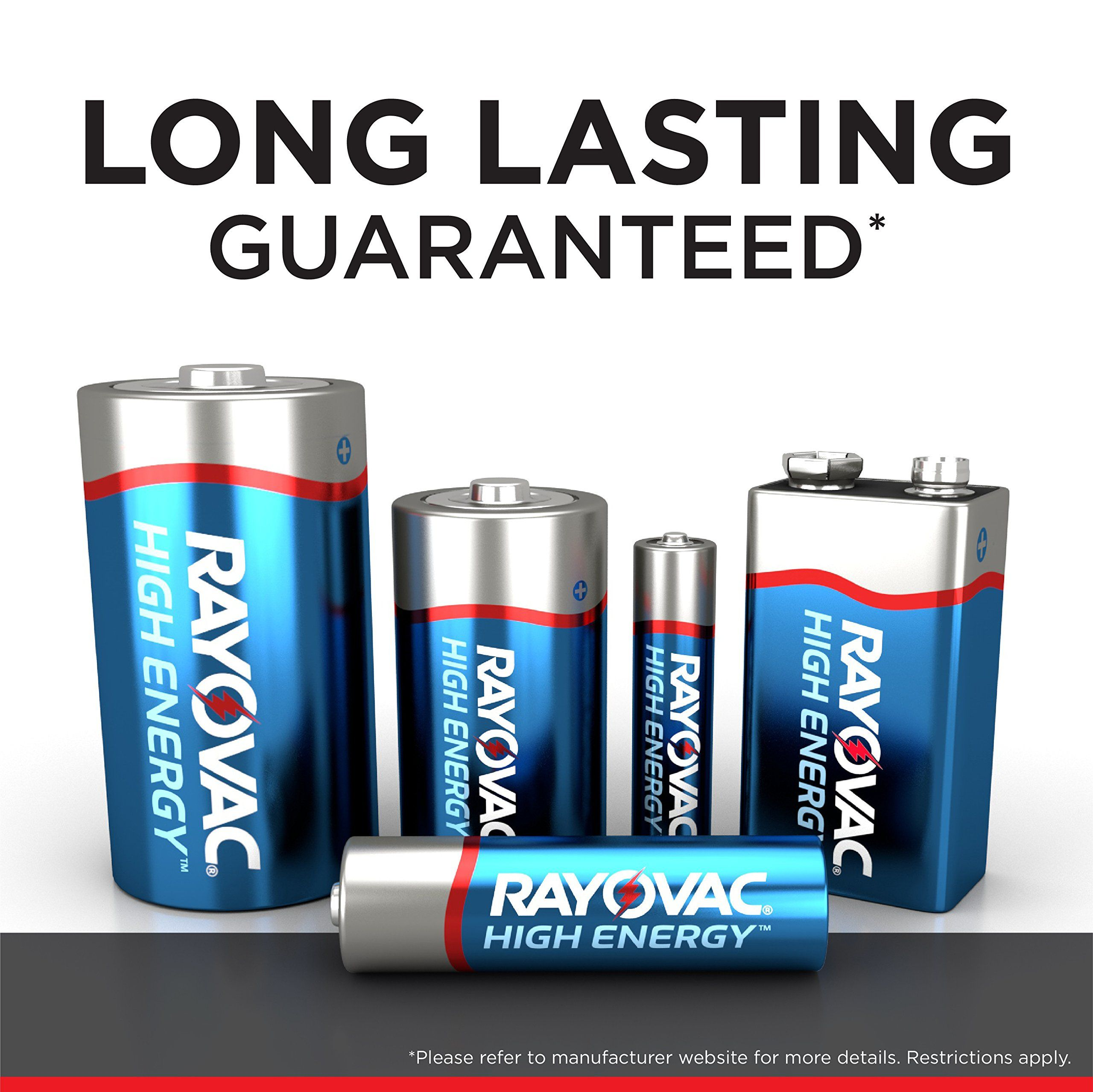Rayovac Aa Batteries Double A Alkaline Batteries 60 Battery Count Batteries Double Rayovac Aa Alkaline Battery Alkaline Batteries