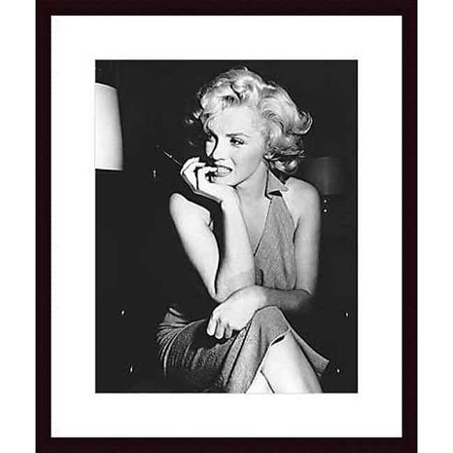 Photo \'Marilyn Monroe, 1952\' Wood Framed Print | Sams room ...