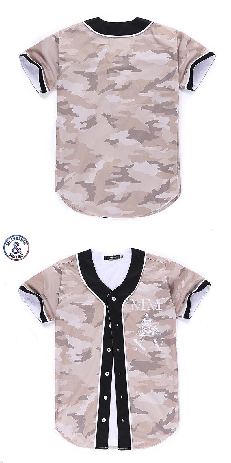 9b1cc44a7283 New fallow Hip Hop Men women T-shirt Camouflage 3d Printing Triangle Eyes  lovely