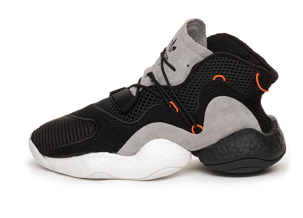 size 40 d6af9 00509 adidas Crazy BYW LVL 1 (Core Black  Orange  Hi-Res Red)