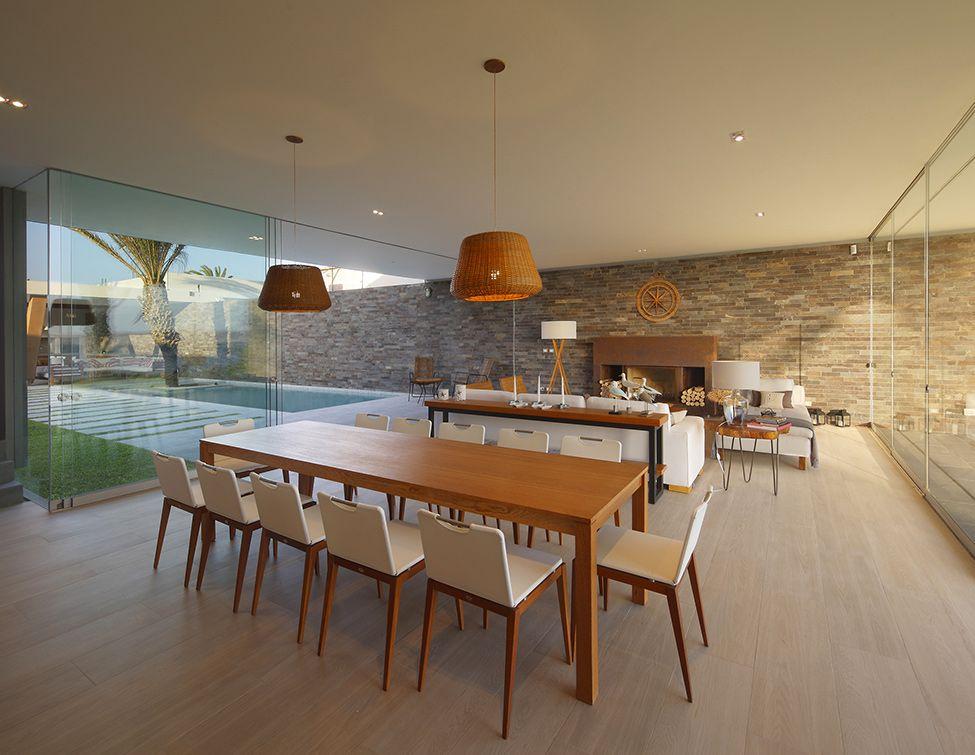 Comedor moderno   Casa mar, Diseños de comedores modernos y ...