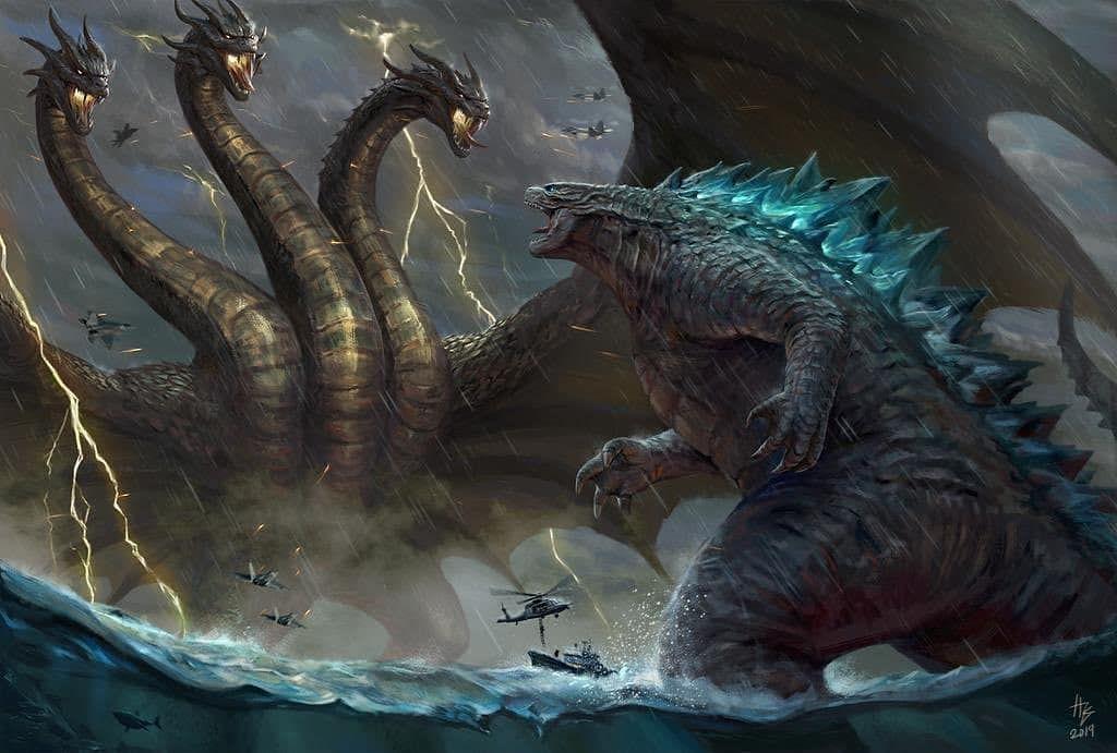 No photo description available.   Godzilla wallpaper ...