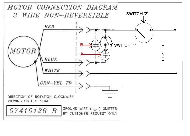 Wiring color codes for dc circuits bodine electric motor wiring i purchased a bodine electric motor from a surplus store but there is no wiring diagram on it asfbconference2016 Images
