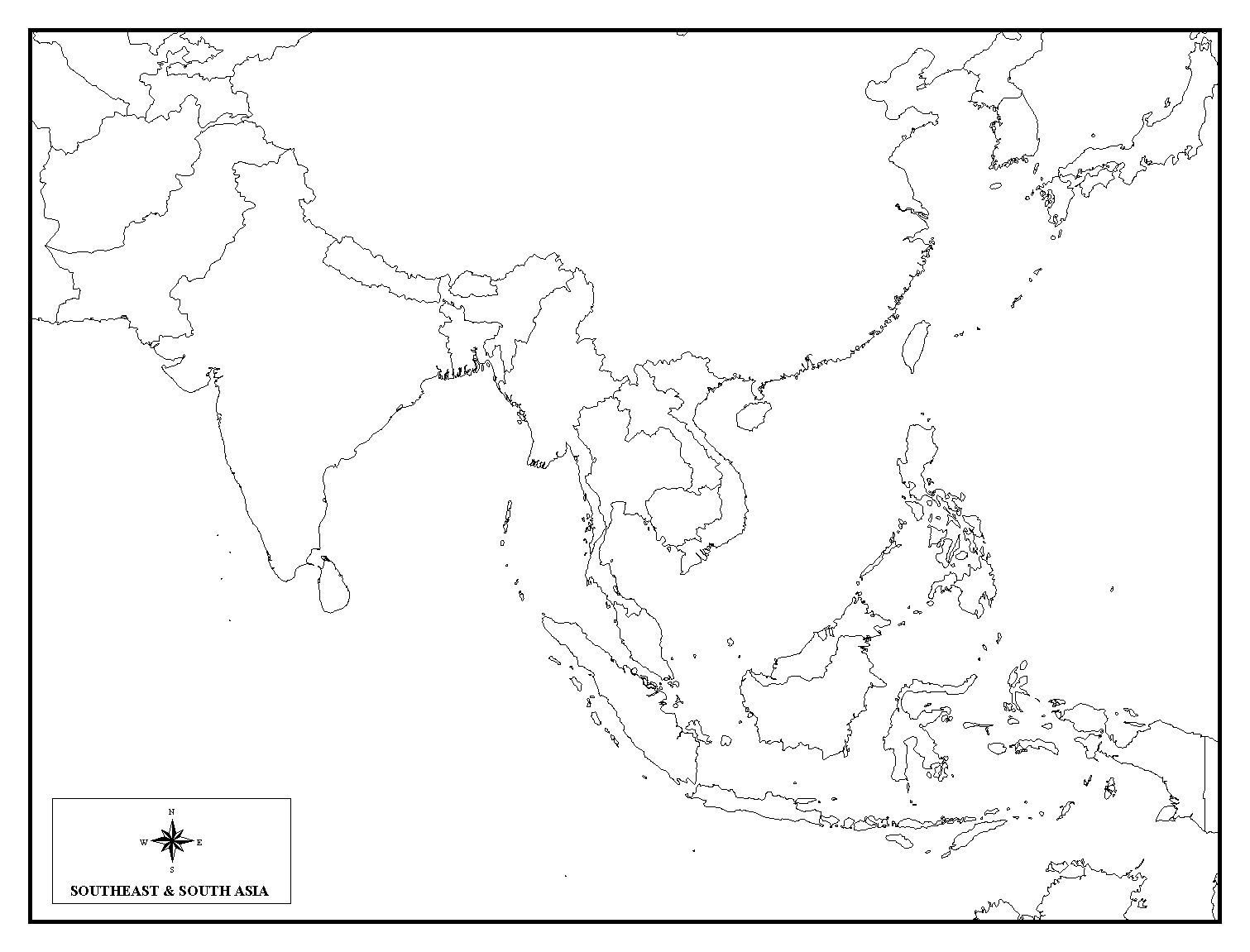 Map Of Asia Quiz Online.Pin By Ashley Harris On Maps Asia Map Map Quiz South Asia Map