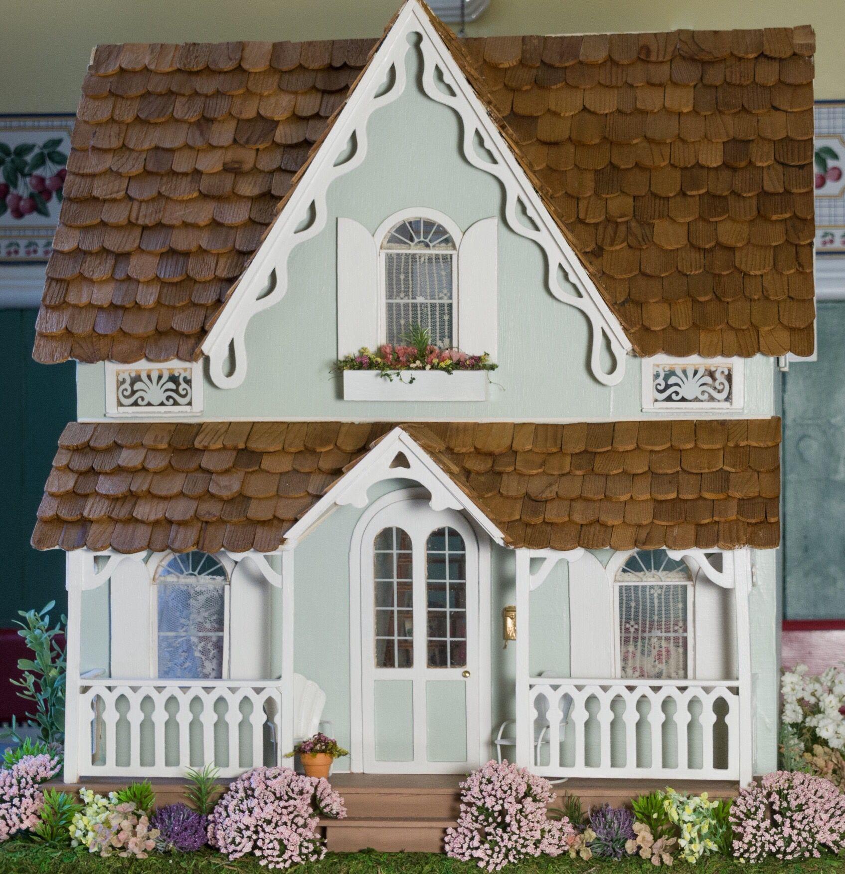 Arthur exterior my dollhouses pinterest dolls dollhouse miniatures and miniatures for Dolls house exterior decoration