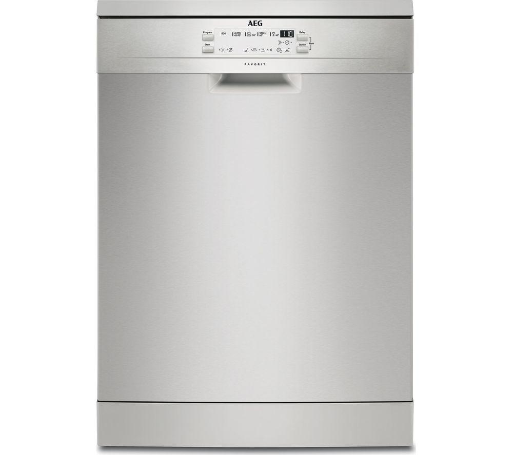 Buy a Aeg FFB53600ZM Fullsize Dishwasher Stainless Steel