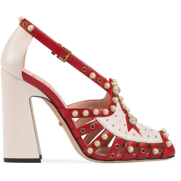 931bb2a99 Gucci Studded Leather Pump ( 2
