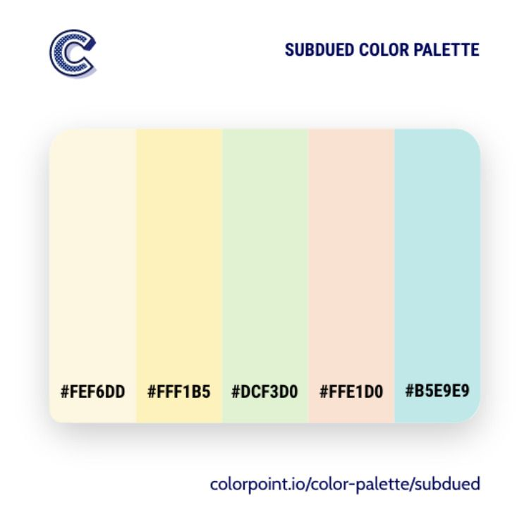 subdued color palette in 2020 color palette palette color pinterest