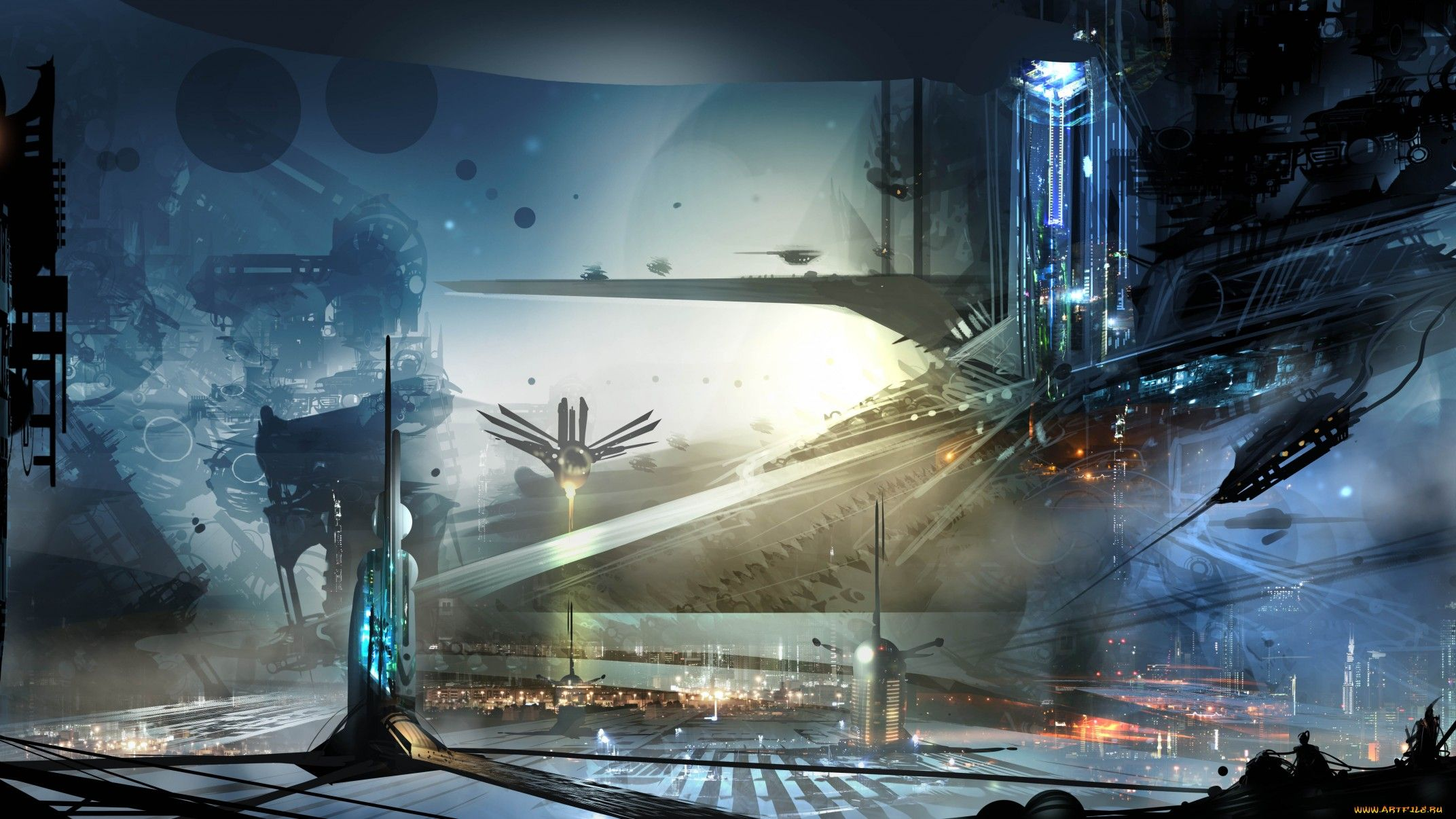 Science fantasy landscape google search inspiration for Space landscape