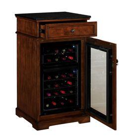 tresanti 24 bottle wine cabinet chateau refrigerated wine cabinet rh pinterest com