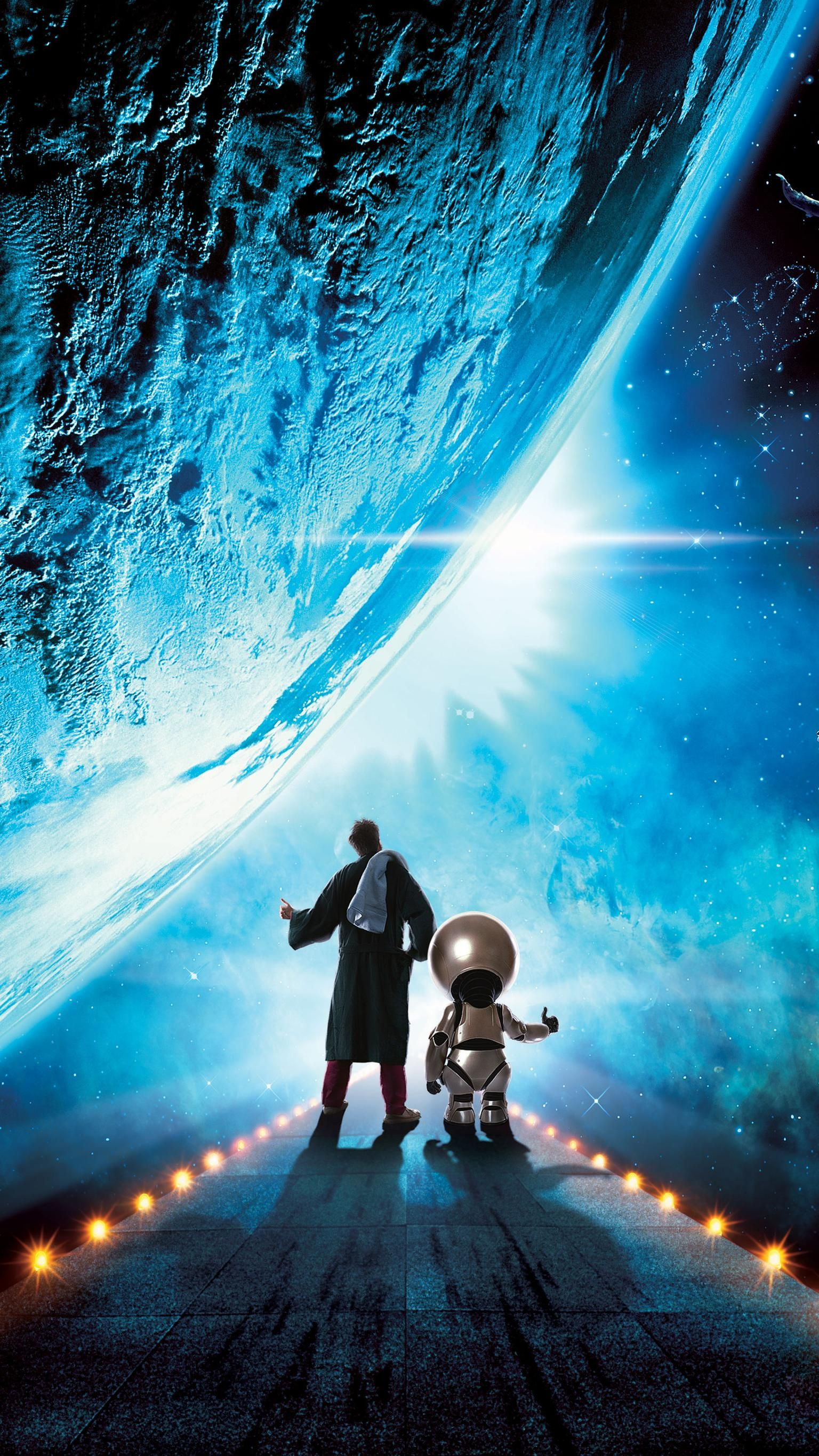 The Hitchhiker S Guide To The Galaxy 2005 Phone Wallpaper In