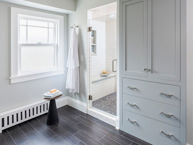 Beau Built In Bathroom Linen Closet