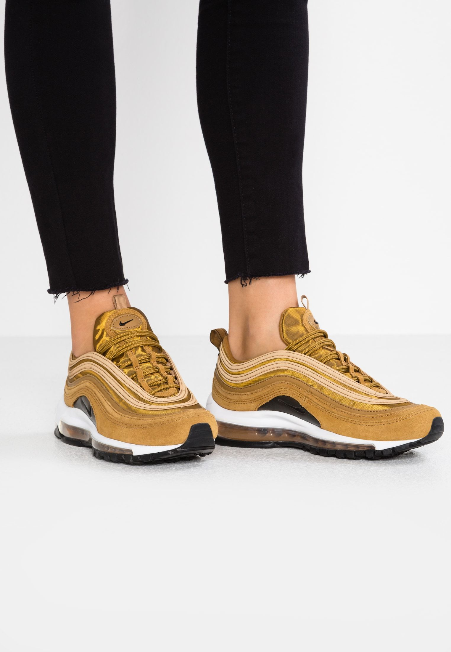 on sale 2973a be66b Nike Sportswear AIR MAX 97 SE - Sneakers - muted bronze white black -