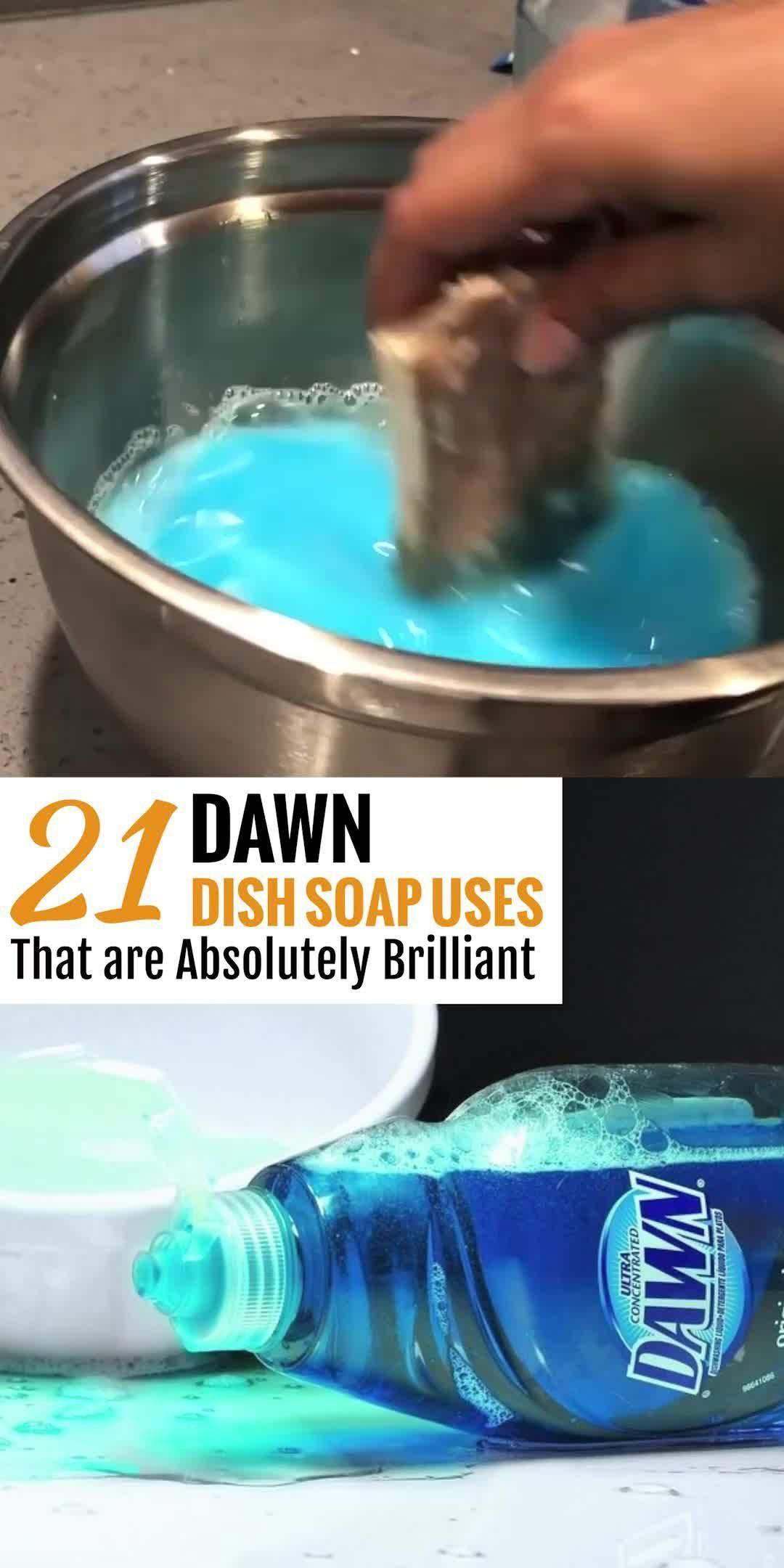 21 Genius Dawn Dish Soap Cleaning Hacks