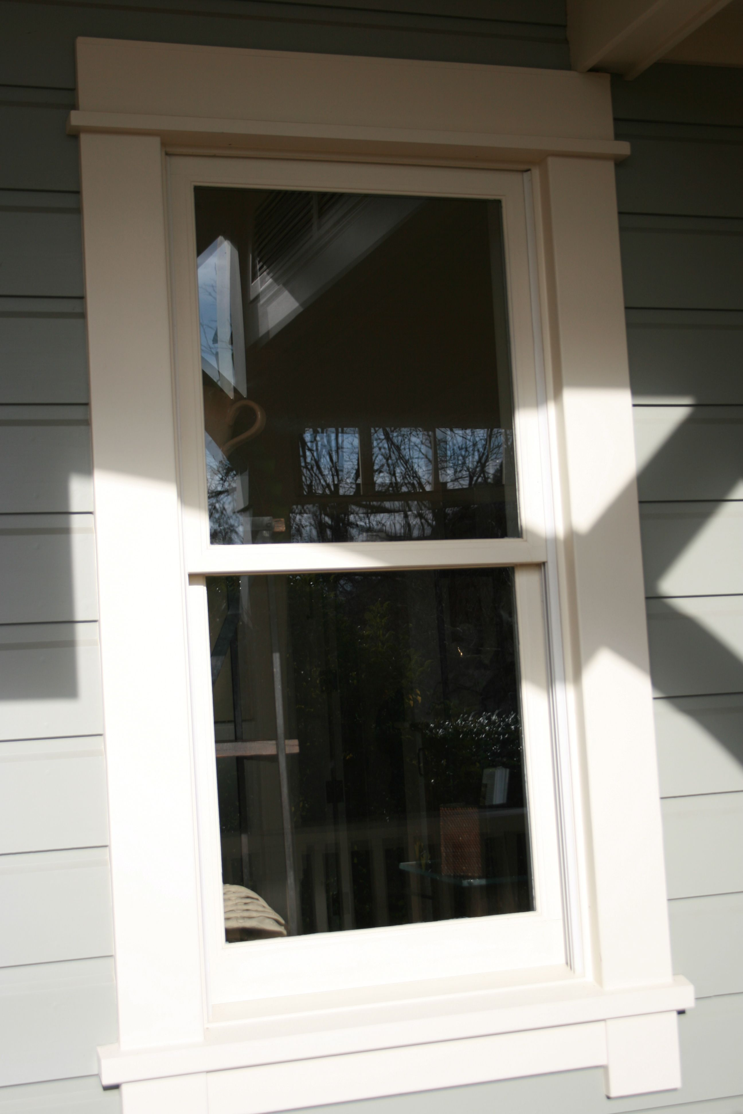 Window Trim Want To Do In Vinyl Outside Outdoor