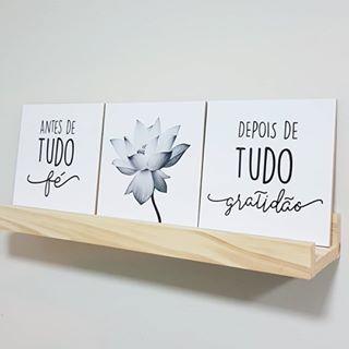 Kit 3 Placas Decorativas En 2019 Frasesquadros Frases