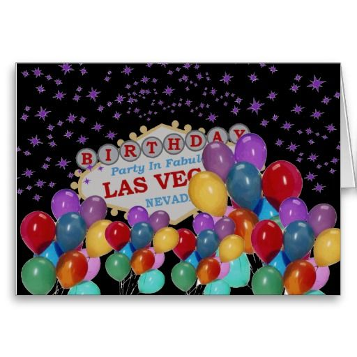 Birthday party in fabulous las vegas with lots of greeting card birthday party in fabulous las vegas with lots of greeting card m4hsunfo