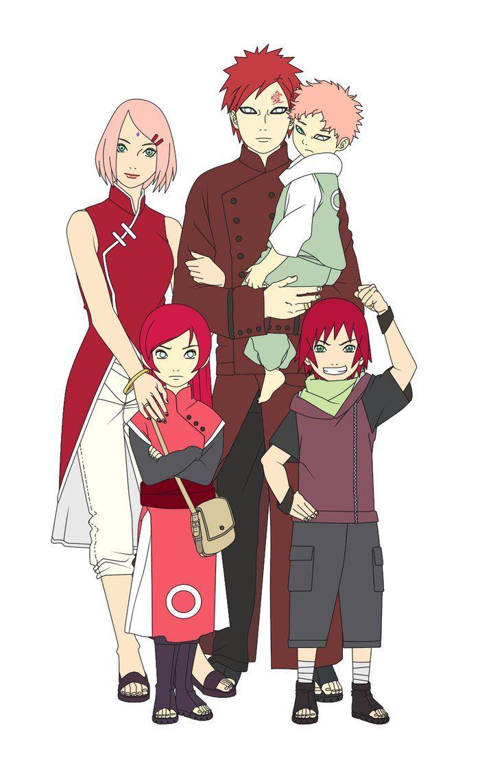 family haruno next gen color zabaku no gaara amp haruno