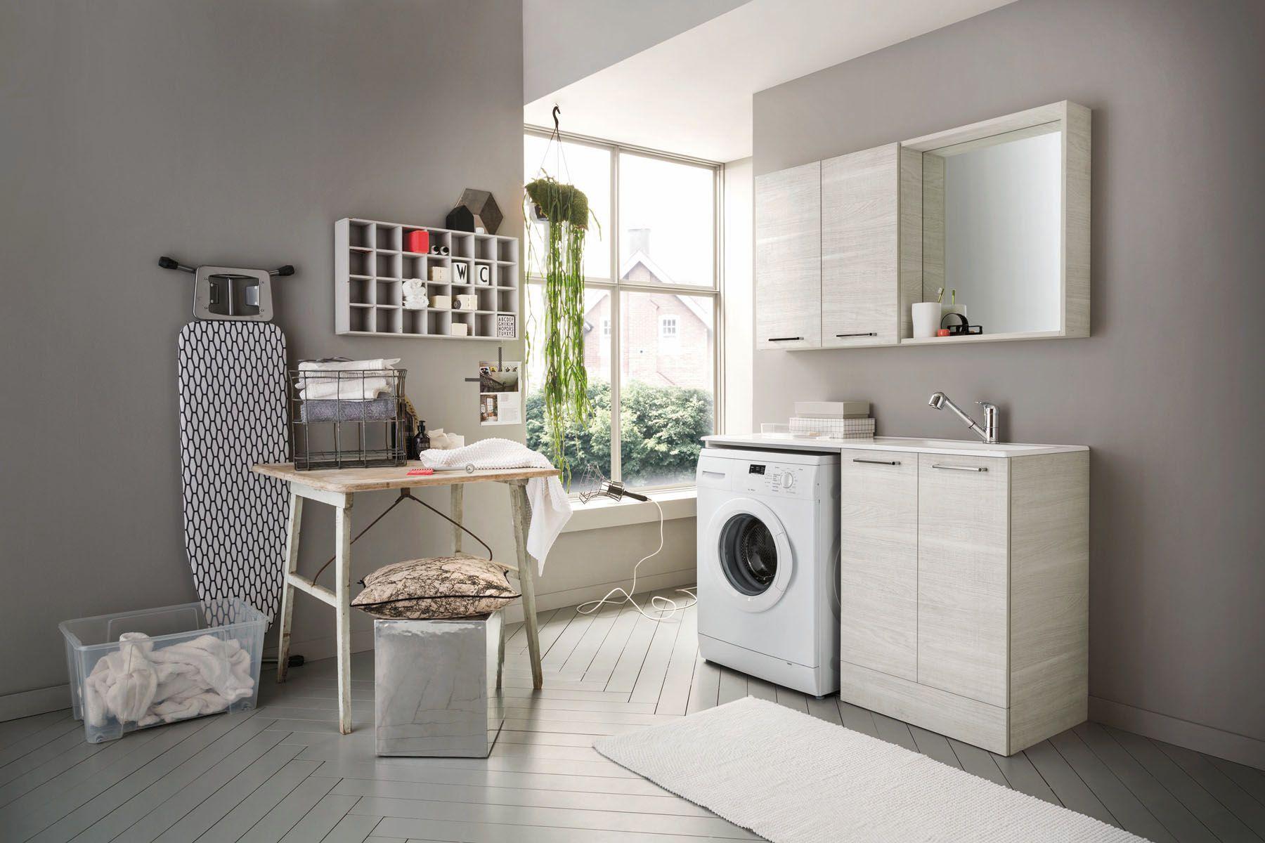 Funzionalità, modularità e praticità. L\'arredo bagno lavanderia ...