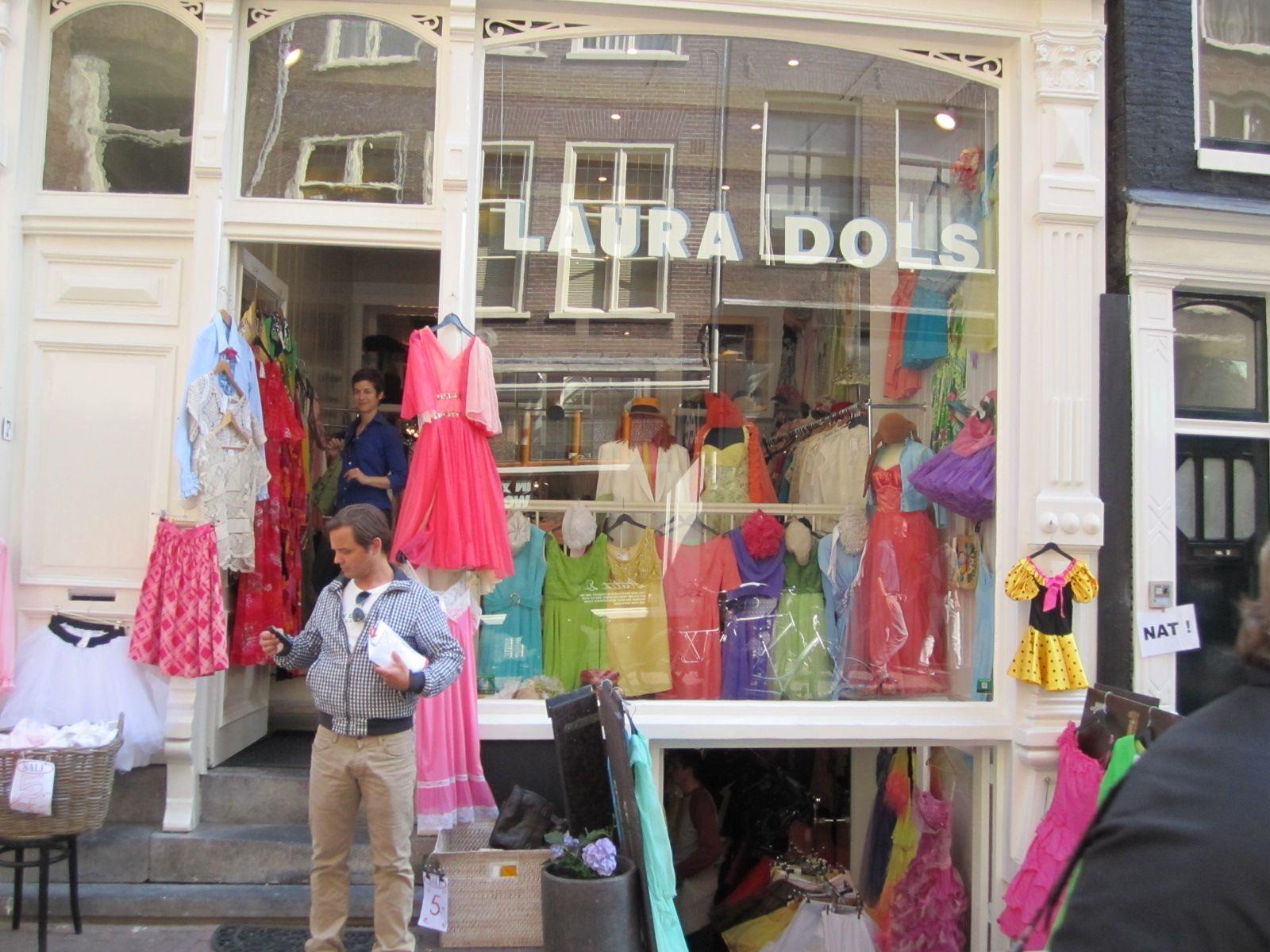 Vintage Dress Store In Amsterdam