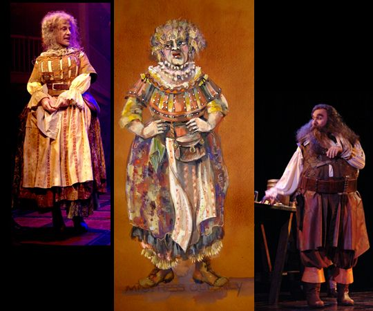 Mistress Quickly And Falstaff Costume Design Costumes Design