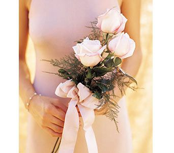 The Flower Factory, Inc., Wichita, Kansas - Simple Pink Roses to Carry, picture | Simple wedding ...
