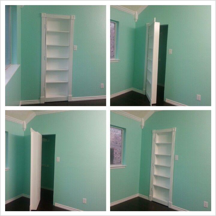 Bookcase Door Between The Kidsu0027 Bedroom