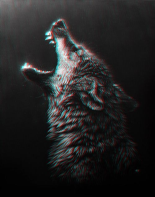 29c7fd5420ffd wolf aesthetic | Tumblr | Crawlers | Wolf painting, Wolf tattoos ...