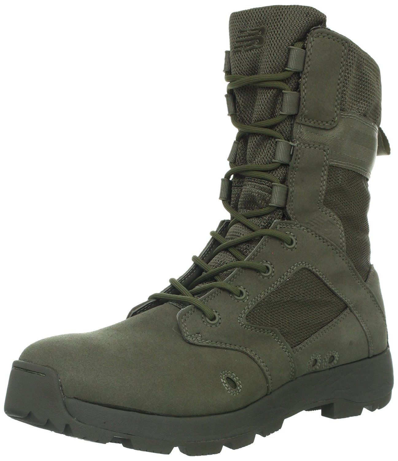 f494aa21ab0 New Balance Tactical Men's Desertlite 8-Inch Boot,Sage Green,6 2E US ...
