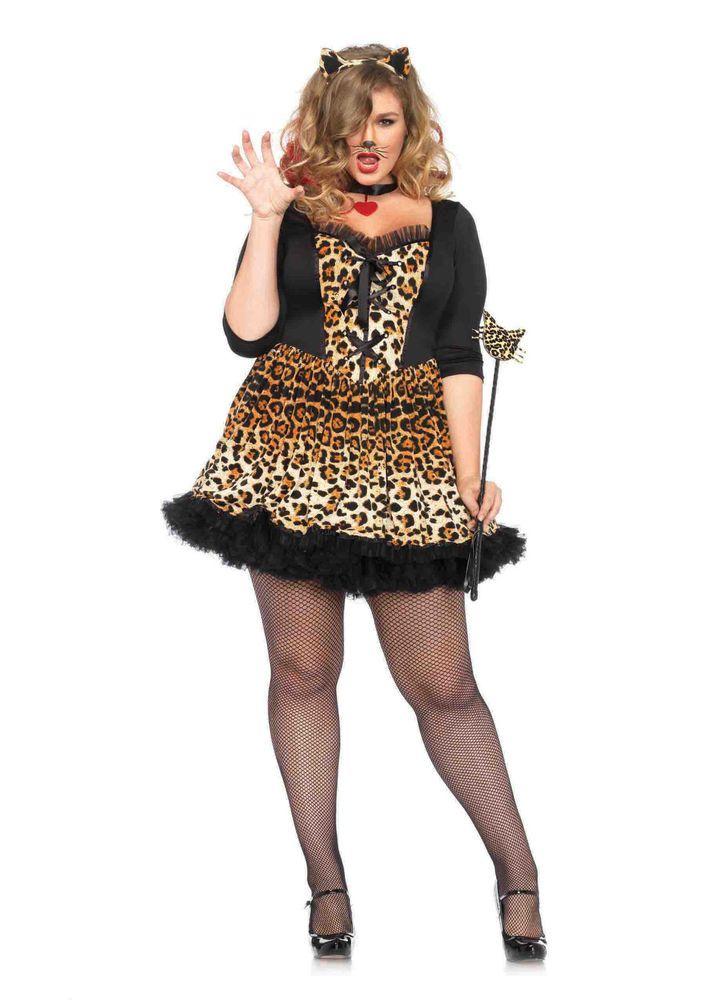 new leg avenue 85504x plus size wildcat female adult costume legavenue