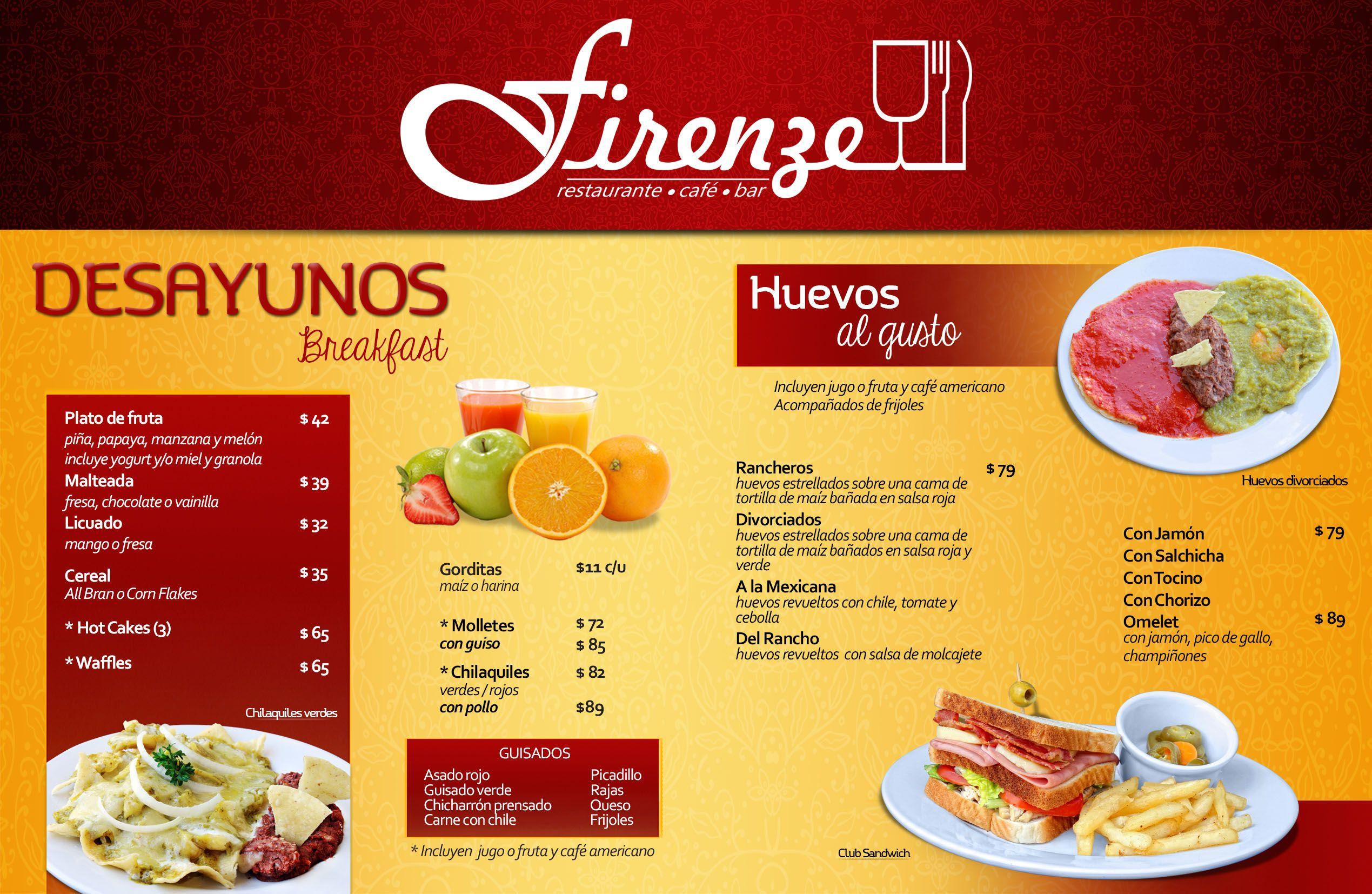 Dise os de menus de restaurantes buscar con google menu design pinterest - Restaurantes de diseno ...