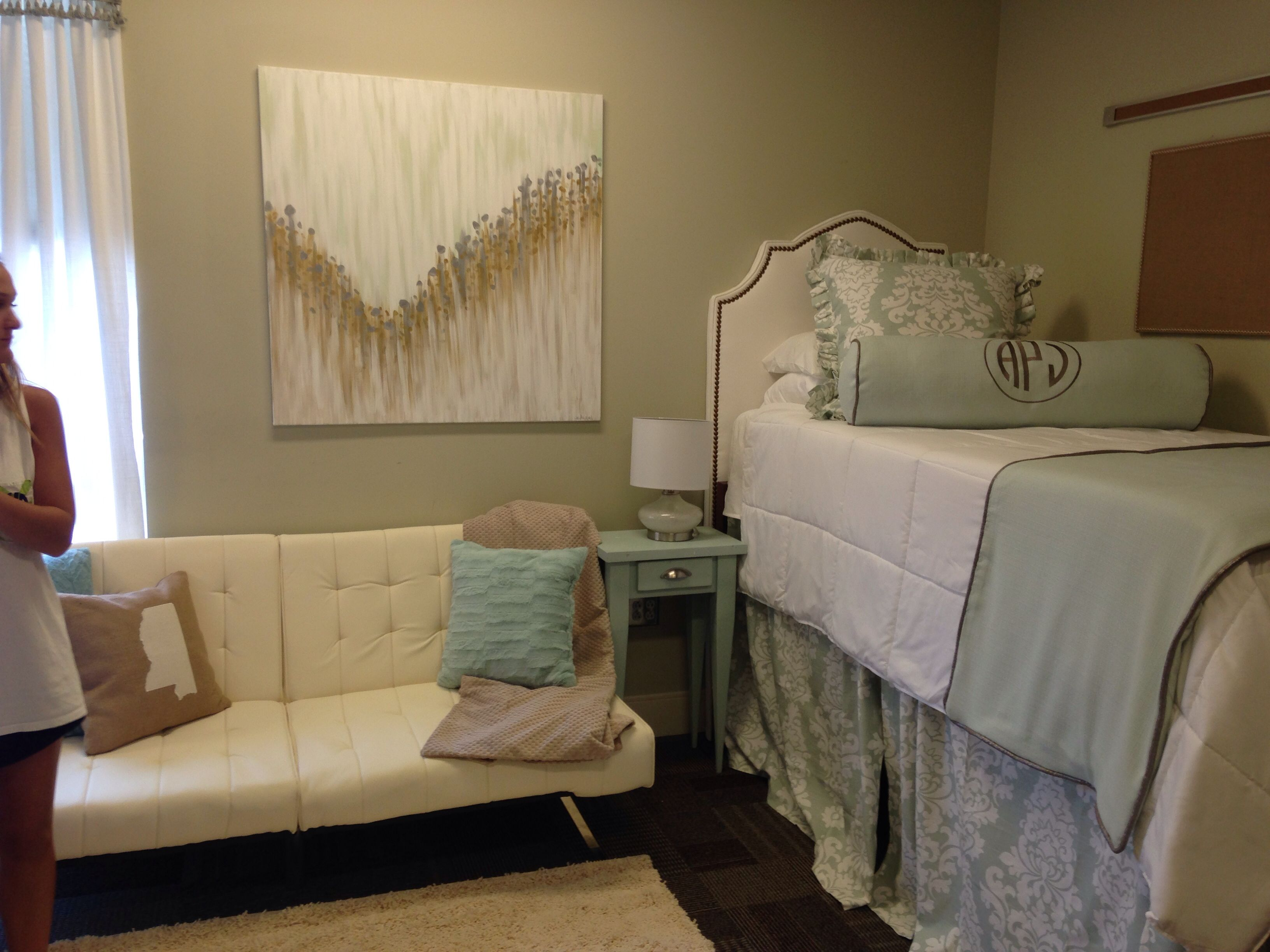 Mississippi State University Dorm Room Premier Fabrics Jackson