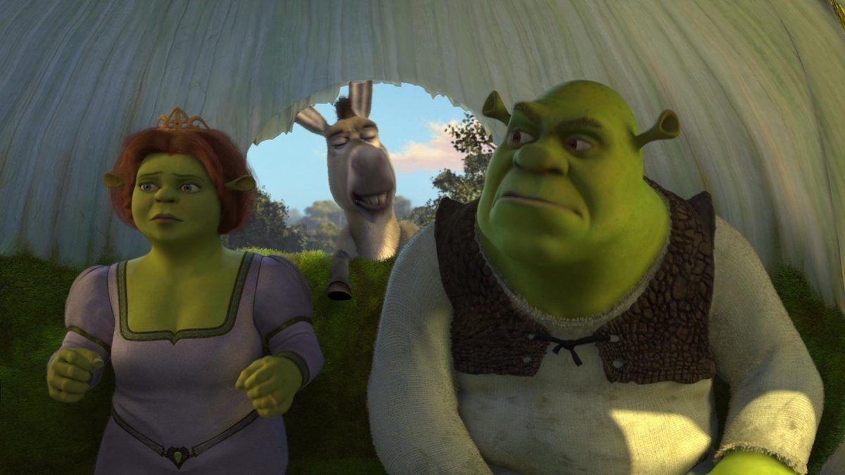 62 Fiona Wallpapers Shrek 2 Shrek Amor E Assim Fiona E Sherek