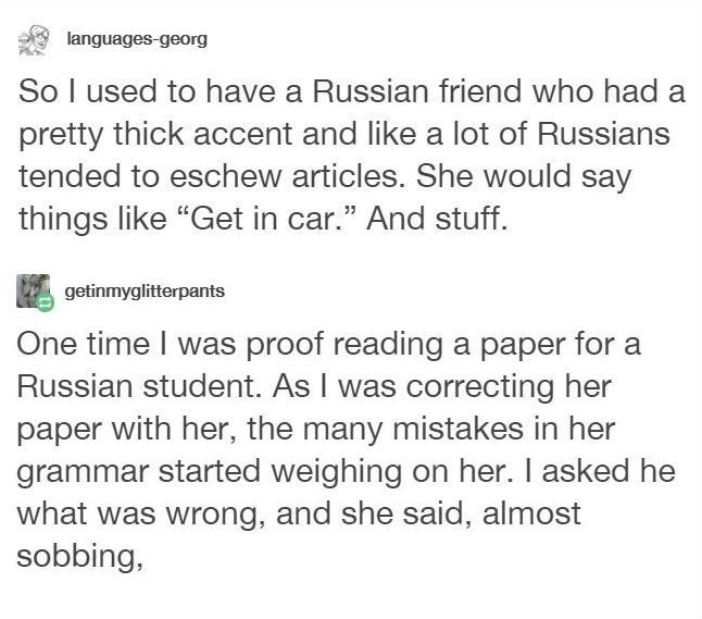 Russian Woman Unleashes Savage Comeback On Person For Mocking Her Accent