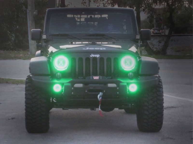 Oracle Led Smd Halo Kit To Use With Headlights For 07 Up Jeep