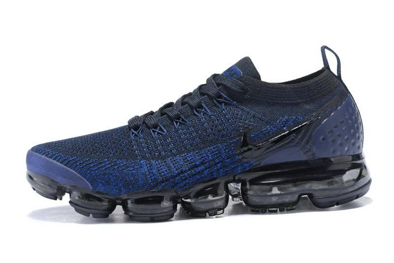 769a8c67832f76 Cheap Nike Air Vapormax Flyknit 2 Men Dark Blue