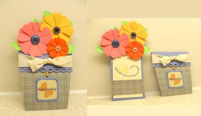 pinshadow ellis on teacher  gift card holder flower