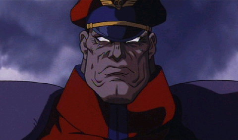 M Bison Street Fighter Animated Movie Street Fighter Anime