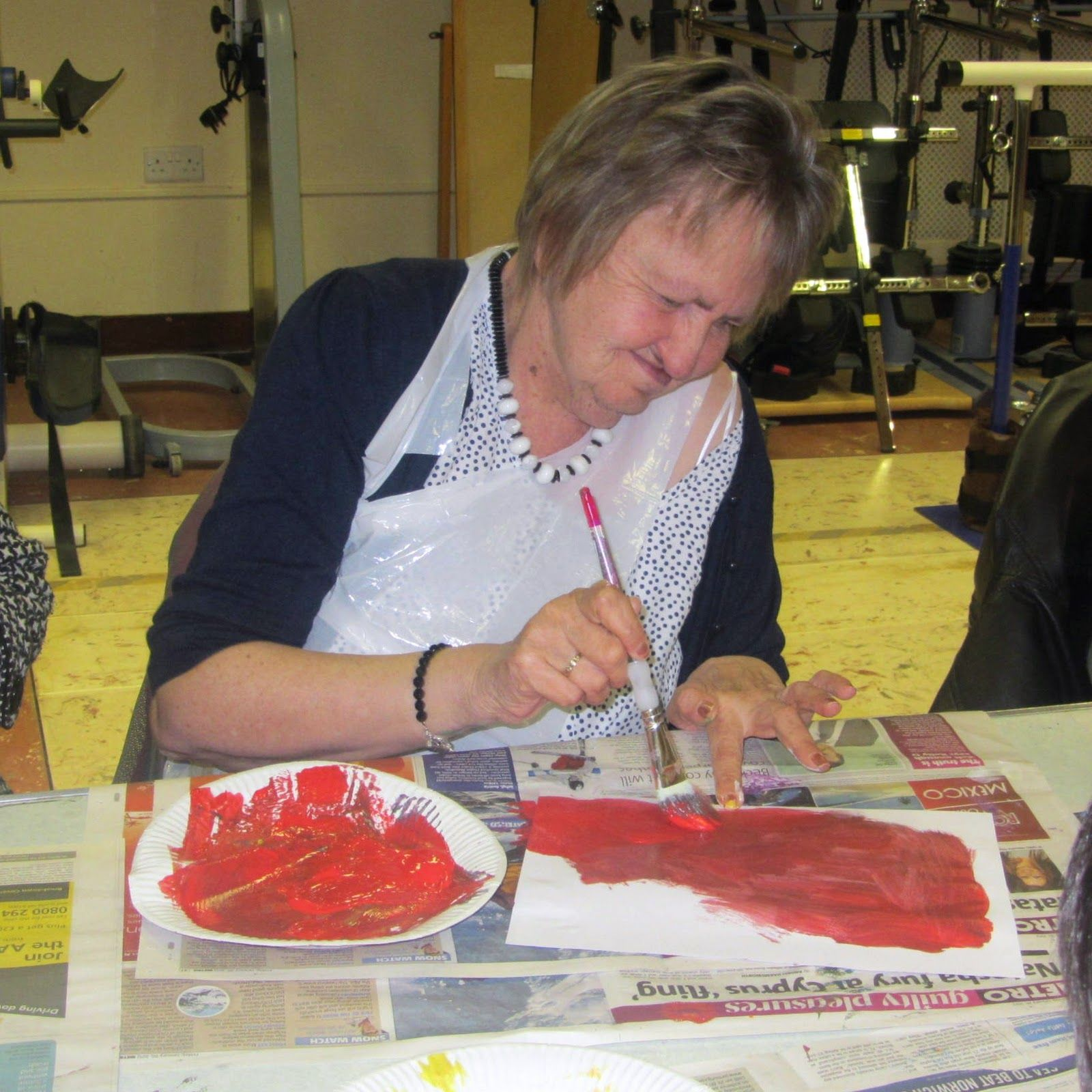 Art And Craft For Adults With Disability