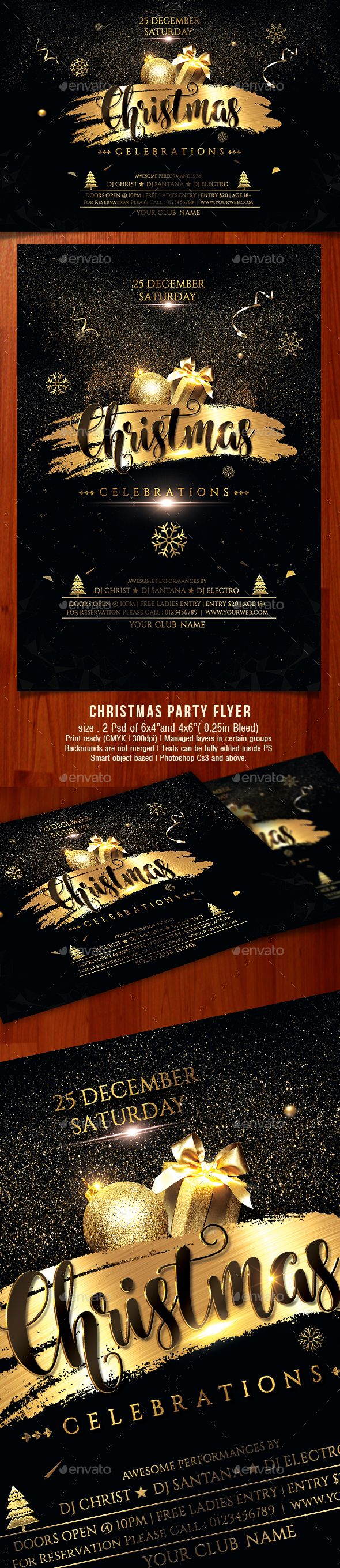 Christmas Flyer  Christmas Flyer Flyer Template And Brochures