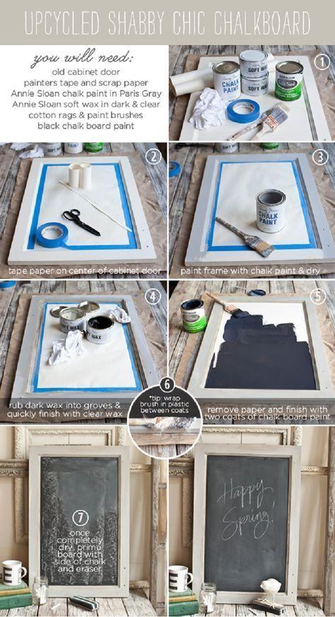 Photo of DIY Chalkboard