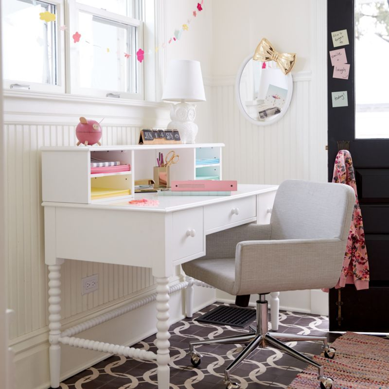 Kids Jenny Lind White Spindle Desk Reviews Crate And Barrel Desk For Girls Room Kid Desk Girls White Desk