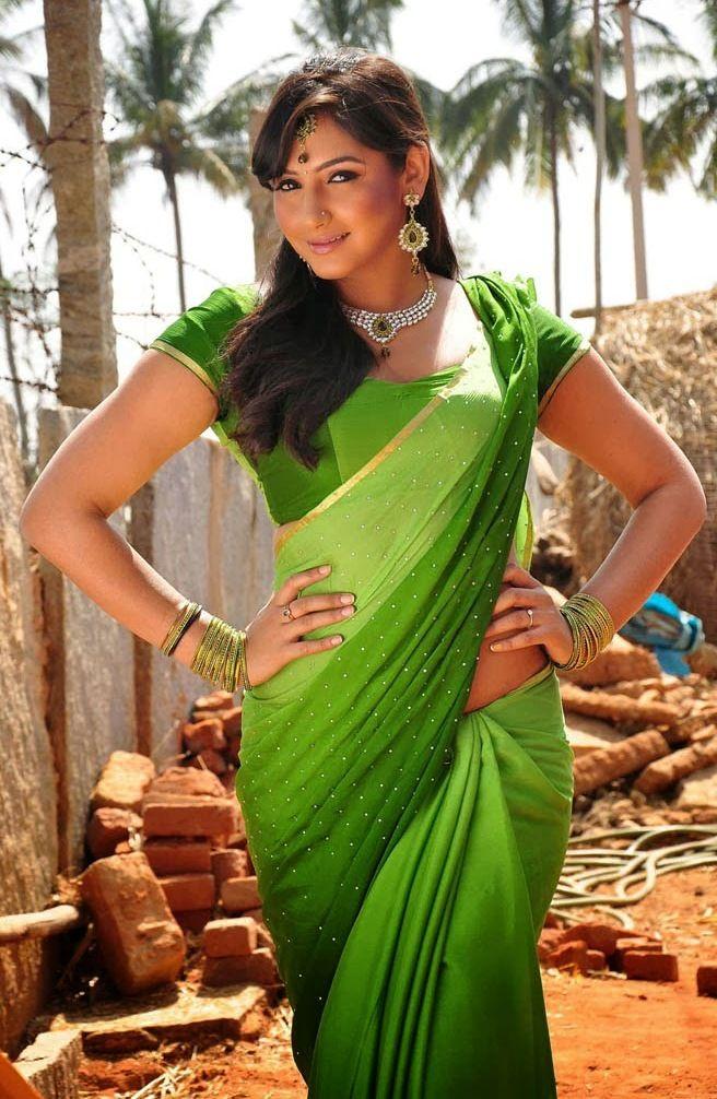 Ragini Dwivedi Hot In Saree Raginidwivedi Bollywoodactress