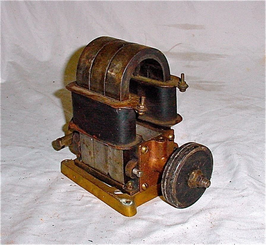 Antique Angola Magneto Hit Miss Gas Engine Wright Brothers