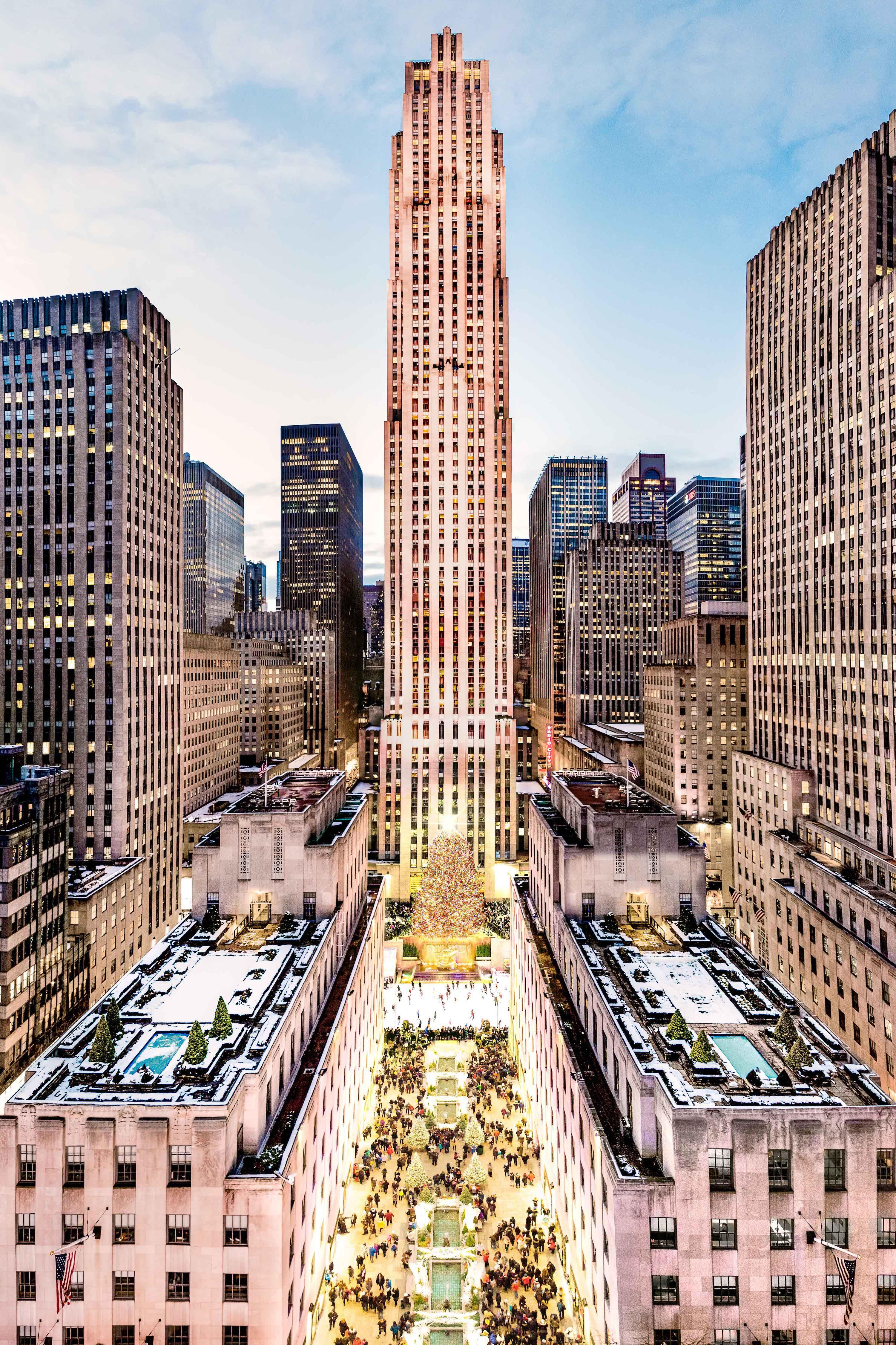 Brand Gray Malin X Rockefeller Center Tree In 2019 Holiday Cheer